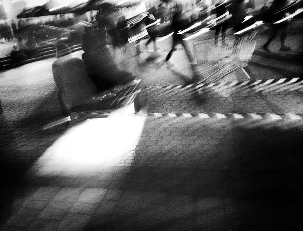 Mobile Photography Blac&white  Street Photography Jaworzno