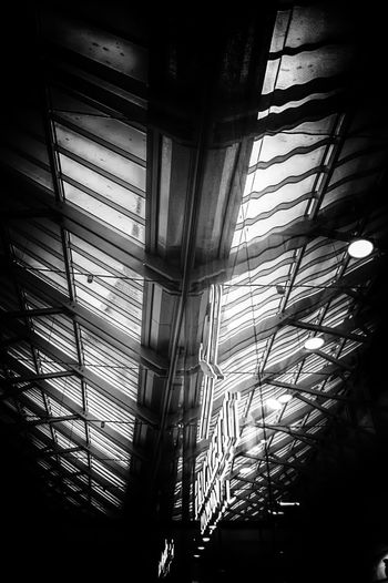 Roof Roof Ceiling Shop Blackandwhite Black & White Architecture Southsea Hampshire  England Portsmouth Window Architecture