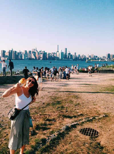 Eastriverpark Skyline Brooklyn Williamsburg New York NYC Photography Love