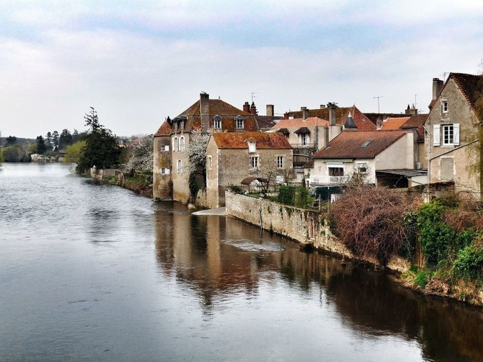 Visiting a nice French region (Vienne-France) River Landscape Taking Photos Landscape_Collection