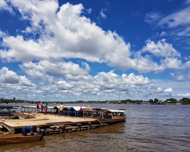 iquitos Iquitos  Water Cloud - Sky Sky Beach Sea Land Nature Vacations Holiday Trip Scenics - Nature Blue Crowd Travel Destinations Travel