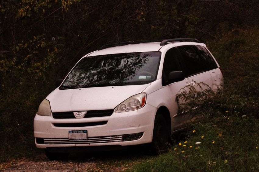 Car Day Family Car Land Vehicle Minivan Nature No People Outdoors Toyota Transportation Tree
