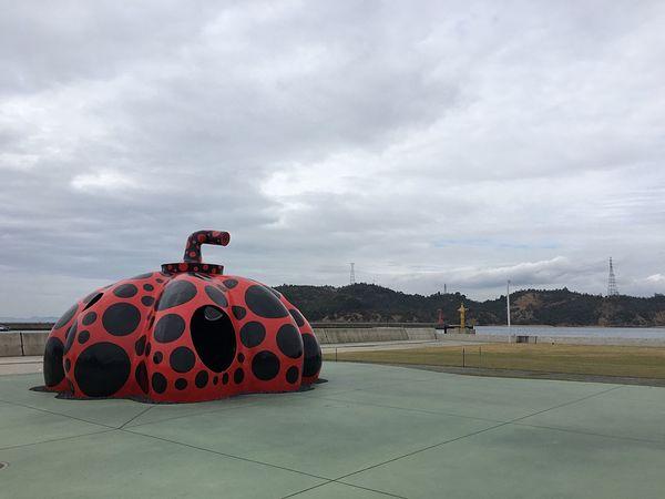 Naoshima Kagawa Yayoi Kusama Red Pumpkin Art Japan EyeEm EyeEm Best Shots