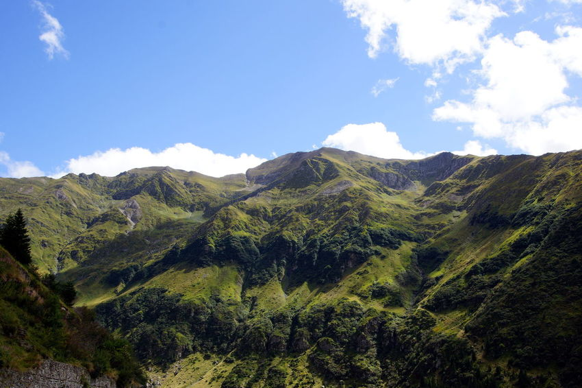 Transfagarasan, Romania Nature Sky And Clouds Mountains Romanian Lands Landscape