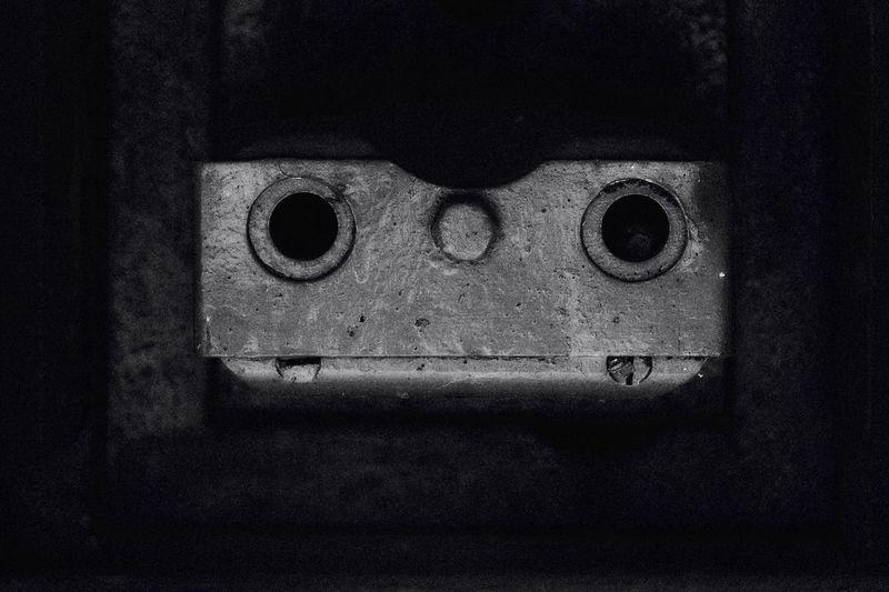 Black And White Defense Face Gun Barrel Machine Gun Maginot Line Oddities Ww2