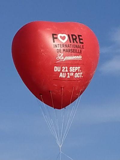 Hot Air Balloon Helium Balloon Balloon Red Love Helium Heart Shape Celebration Valentine's Day - Holiday Sky