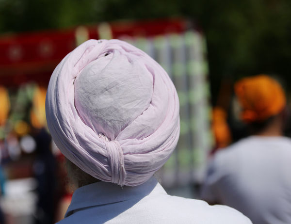 old Sikh man with pink turban during the religious rite and long white beard Celebration HEAD India Indian Indian Culture  Man Sikhi Vivid Colours  Clothing Nagar Kirtan Nagarkirtan  Parade People Religion Religious  Religious Rites Rite Sikh Sikh People Sikh Religion Sikhism Sikhlife Sikhs Turban Turbans