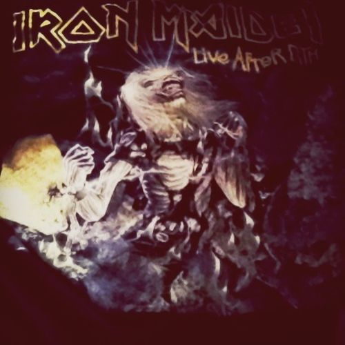 Iron Maiden Live After Dead