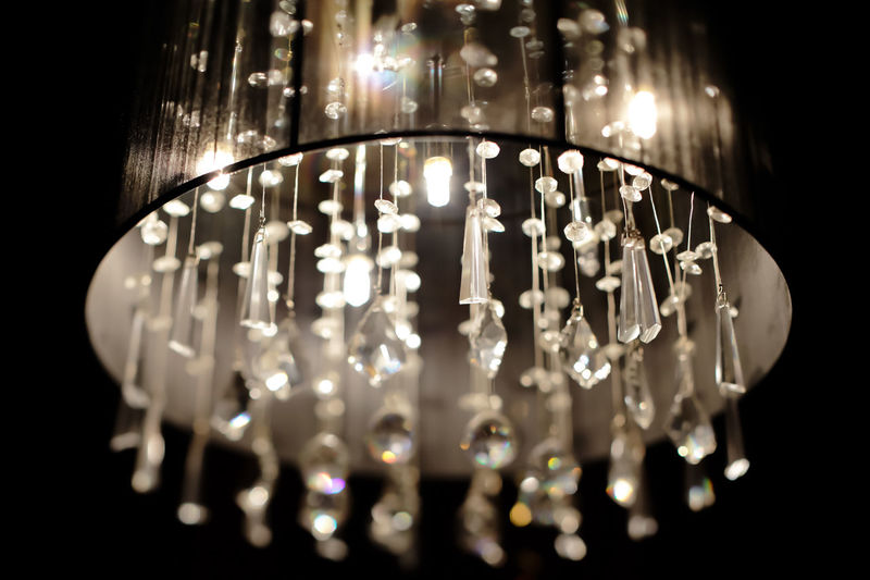 Chandelier with crystals in a nightclub Light Background Beauty Bokeh Chandelier Crystal Design Detail Diamond Elegant Glamour Glass Halogen Lamps Hang Lamp Luxury Luxury Design Luxury Hotel Luxurylife Rich Shape Style Stylish Stylish Furniture Vintage Capture Tomorrow