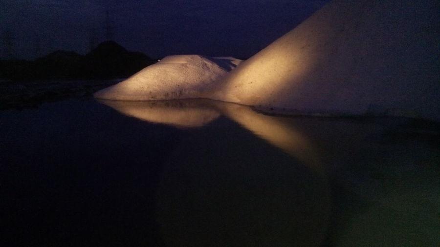 Night view of salt First Eyeem Photo