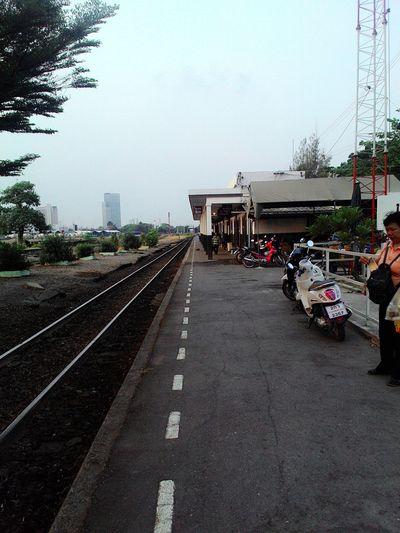 Train Station Street Hello Peaple Happy :)
