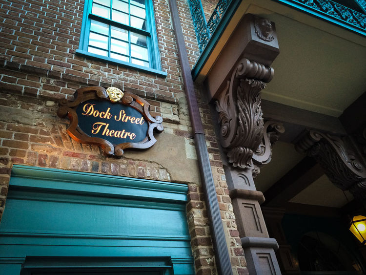 ©Amy Boyle Photography Architecture Building Exterior Day Illuminated Low Angle View No People Old-fashioned Outdoors Sign Text Theatre Theatre Arts