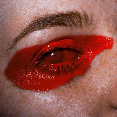 STRIPE Red Human Body Part Physical Injury Human Eye Mariussperlich