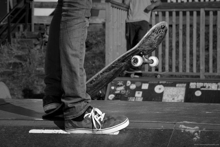 Skateboarding Black And White Black & White Scheveningen  www.lorenzopetruzzelli. com