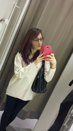 Violet Hair Love Like Glasses Rome Italy Shopping Center Shopping All The Day.