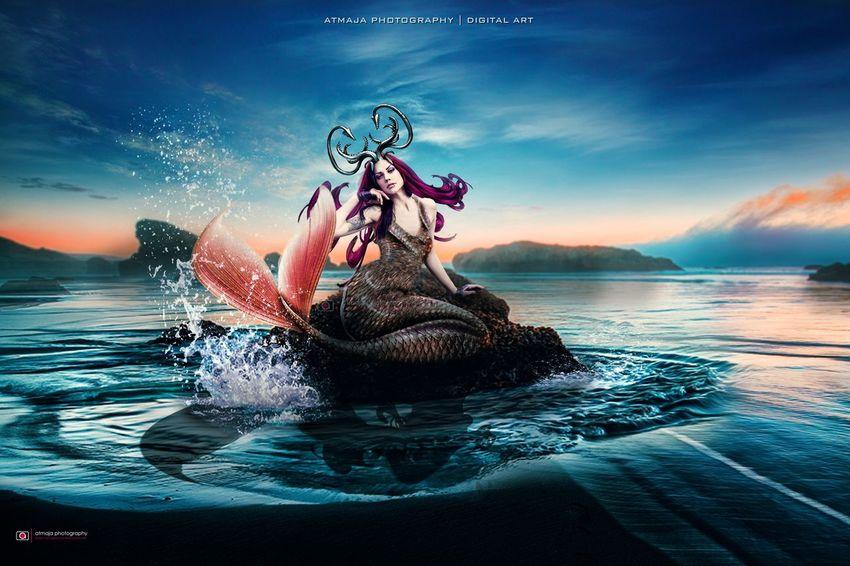 Digital Art Photoshop Photographer Atmaja Photography Beautiful Woman
