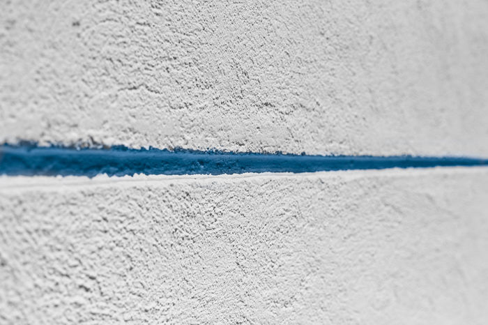 Backgrounds Blue Blue Line Close-up Day Full Frame LINE No People Outdoors Textured  Wall White White Color