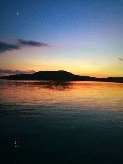 Look Up And Thrive Sunset Arkansas Natural Beauty