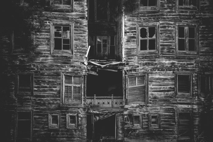 Creepy Building Abandoned Architecture Building Exterior Built Structure Damaged Day No People Old Buildings Old Ruin Orphanage Outdoors Remnants Scary Building Scary Places Window
