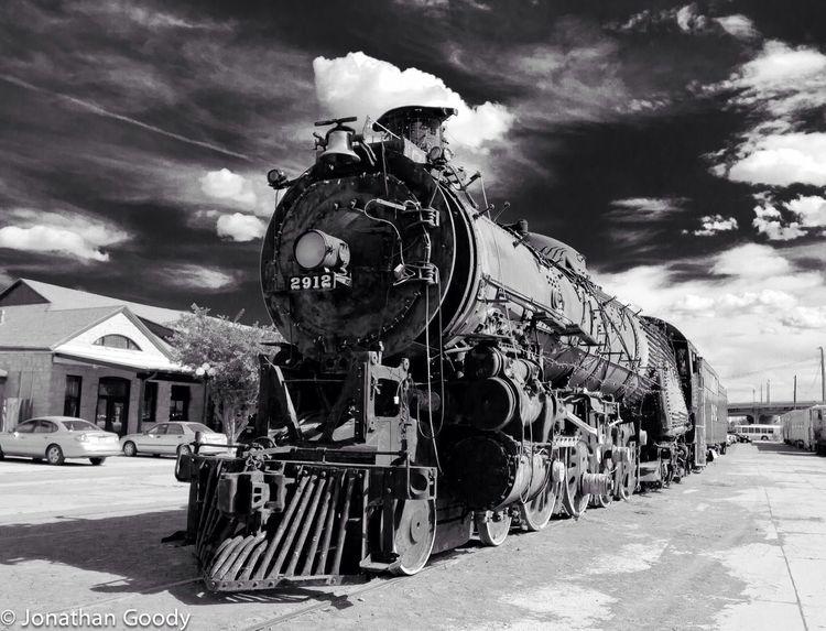 Train Railroad Colorado Southern Pacific