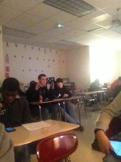 Hanging Out In Class