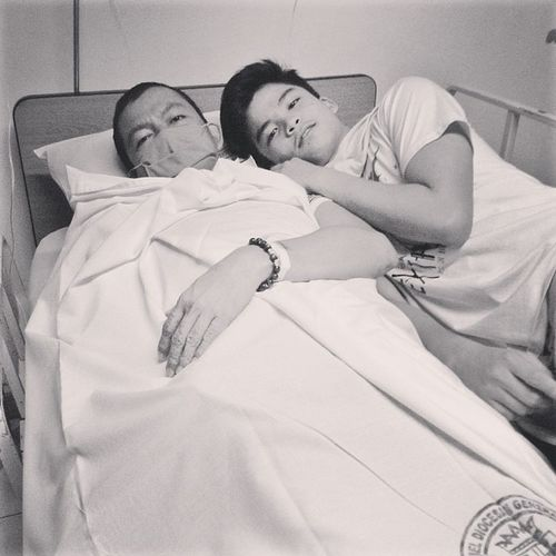 Be strong, Tatay. We love you. Get well soon.
