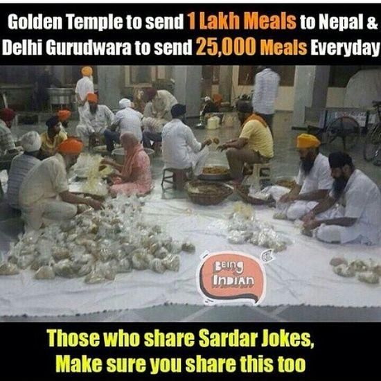 Nepal Helphour HUMANITY Sikh Sikhism Hindu Muslim Islam Christianity Help Langer Freekitchen Singh