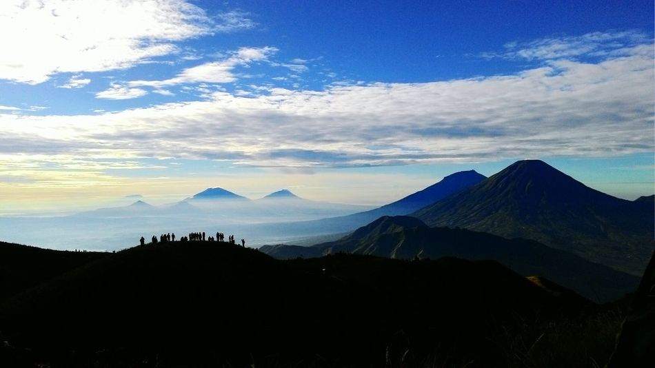 Mt. Prahu Dieng Wonosobo INDONESIA Indonesiagateway Eye4photography  Eyeemphotography Mountain Indonesia_allshots Clouds And Sky