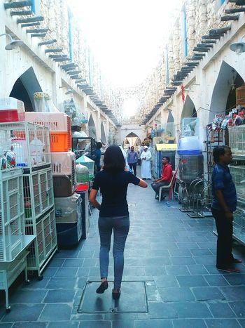 Walking Around Walk Back Souq Waqif