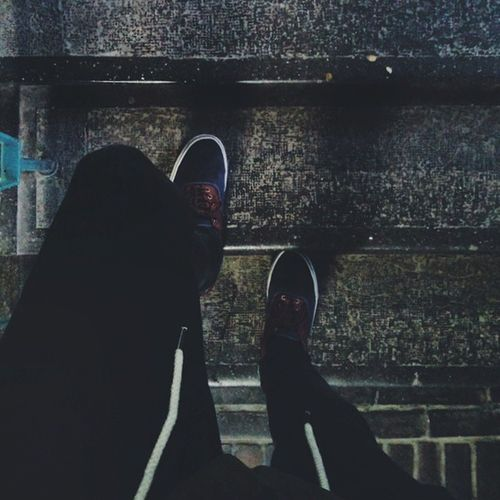 VSCO Vscocam Shoes Bme stairs