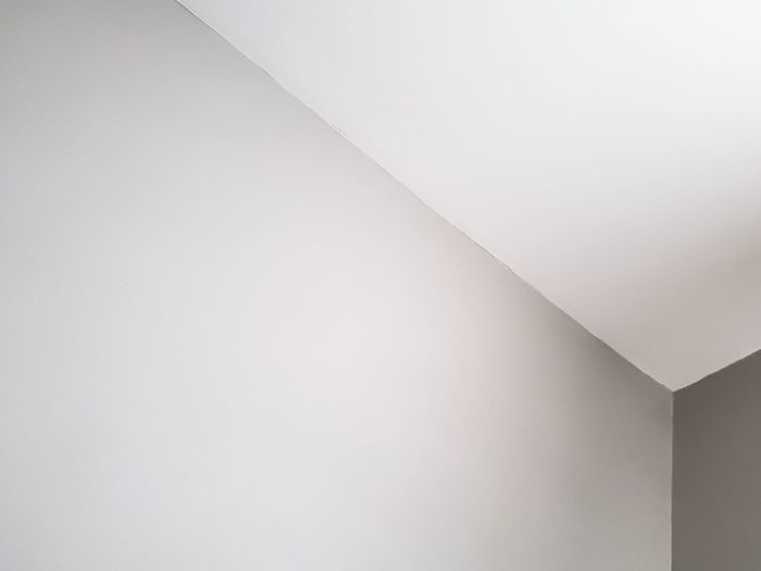 Low angle view of ceiling of building