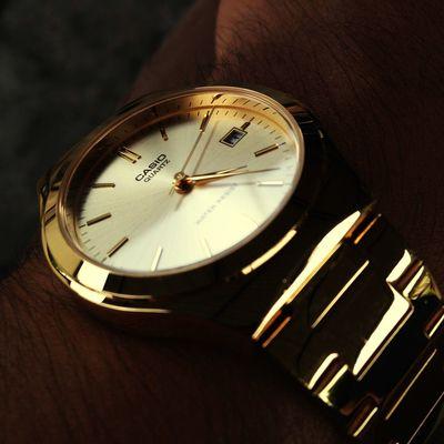 Casio Watch Gold BeSpoke