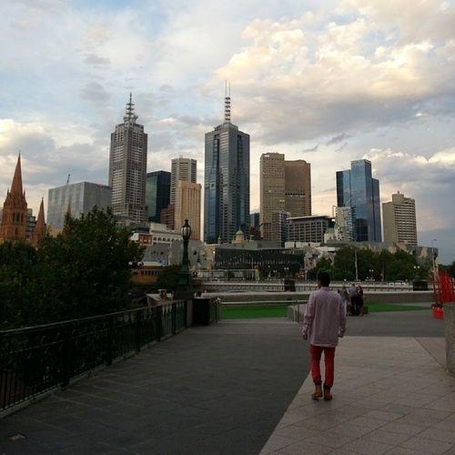Southbannk Melbournecbd view
