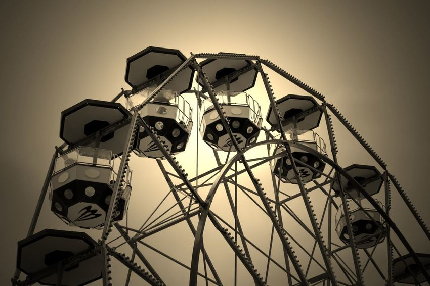 Edited EyeEm EyeEm Best Edits EyeEm Best Shots EyeEmBestPics From My Point Of View Sepia Tone Loving Sepia Toned Amusement Park Amusement Park Ride Edited My Way Eye4photography  Faris Wheel Outdoors Sepia Sepia Tone Sepia_collection Sepiatone Sky