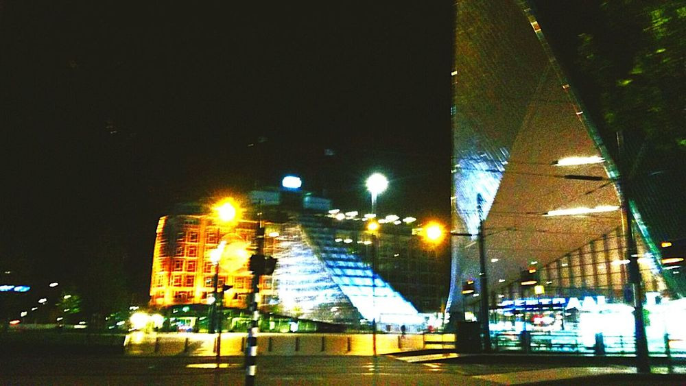 Centraal station Night Illuminated Outdoors Building Exterior No People City Architecture