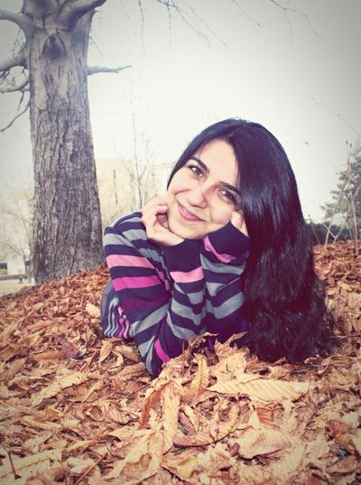 Check This Out That's Me Autumn Leaves Just Smile  Just Me(: Always Smile :)