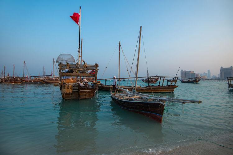 Qatara Traditional Dhow Festival Doha Qatar Kata Doha,Qatar Katara Cultural Village Dhow Festival Boat Beach Traditional Fishing Cultures Omani Qatari