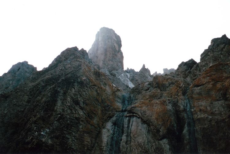 35mm Beauty In Nature Cliff Film Geology Idyllic Landscape Mju2 Mjuii Mountain Nature No People Olympus Outdoors Rock Rock Formation Rocky Rocky Mountains Summer Travel Destinations Treveling Watterfall