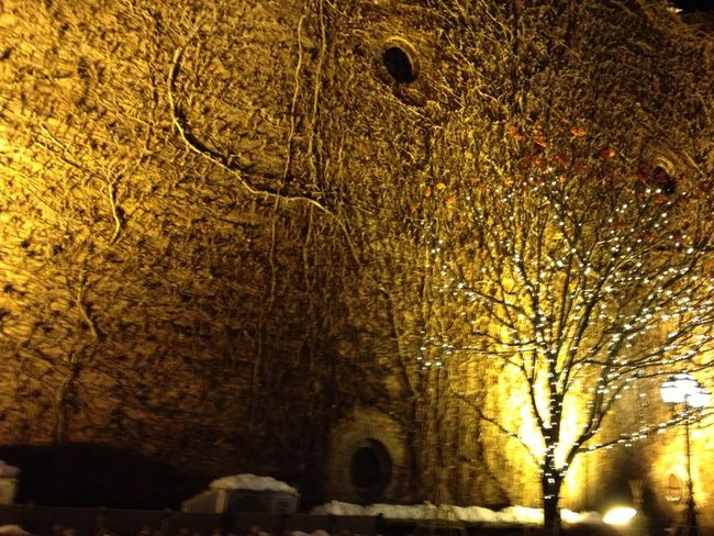 Wall Amber Light And Shadow Amber Light I Love My City My Best Photo 2015 Color Palette