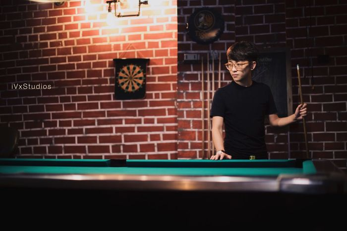 Pool - Cue Sport Pool Cue Indoors  People Photography The Story Behind The Picture Art Chilling Hangout Singapore