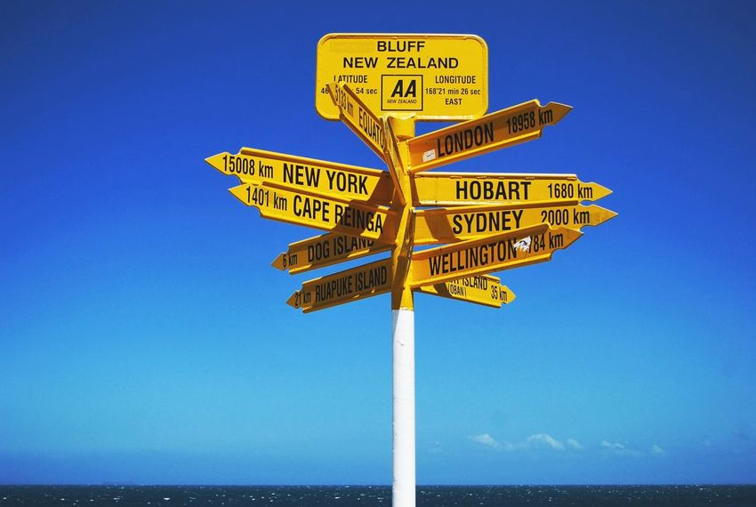 This way to Hobart. Travel Eye4photography  AMPt_community New Zealand South Pacific Post Text Outdoors Sea Water