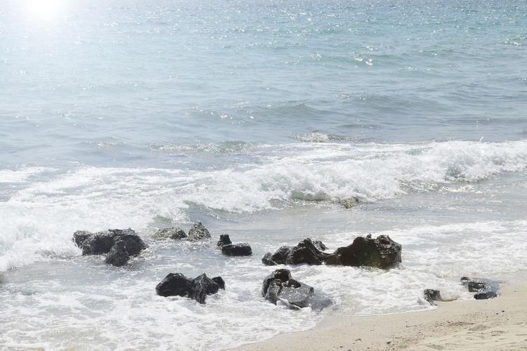 Summer sea in