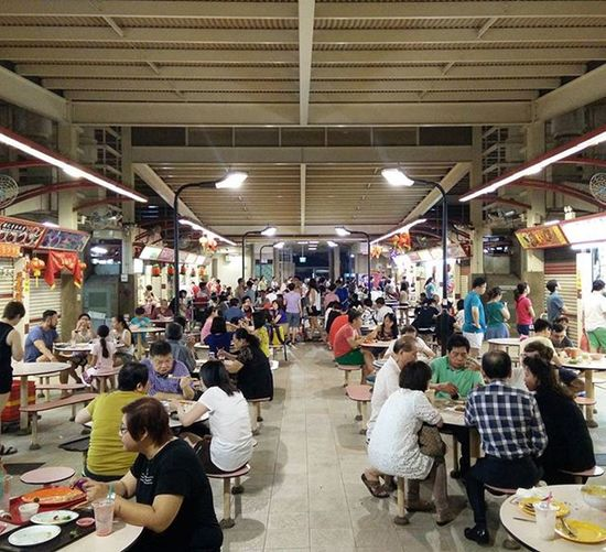 Red Hill Hawker Centre in Singapore, delicious. Singapore Oneplusone BigAdventure Aroundworldtrip Delicious Hawkercentre Food