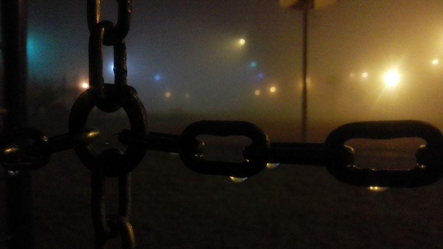 Chains Foggy