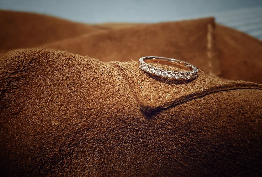 Engaged! Leather Brown Leather Engagement Engagement Ring Eternity Ring Promise Ring Diamonds Rose Gold Wedding Ring Ring Wedding Rings