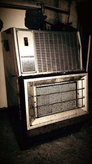 Retro Old Heater Perfectly Imperfect