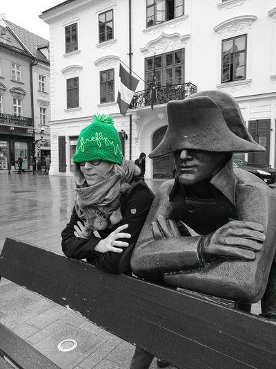 EyeEmNewHere Green Color Green Napoleon Napoleon Bonaparte French Bratislava Bratislava, Slovakia Francais