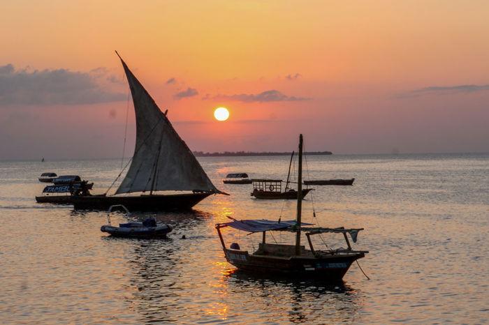Dream Holiday Sansibar Zanzibar_Tanzania Sunset Zanzibar Forodhani Stonetown Sun Ocean Tm2000