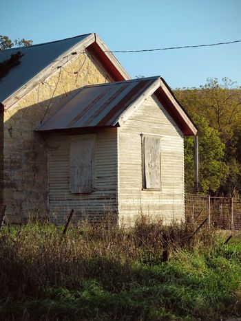 Photo essay - Marysville, Kansas October 15, 2016 A Day In The Life Abandoned Places America Architecture Autumn Building Exterior Built Structure Camera Work Eye For Photography Fall Collection Field Grassy Kansas MidWest Nature No People Oregon Trail Outdoors Photo Diary Photo Essay Rural America Rural Decay Rural Scene School House Visual Journal