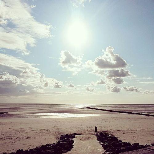 Summer Views Summertime Sea And Sky Sea View Berck Plage France Ocean View Ocean